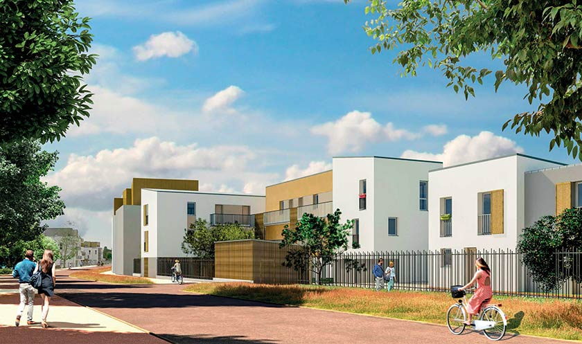 Vente appartement neuf 64 m2 saint jean de braye 45800 for 45800 code postal