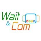 logo wait and com