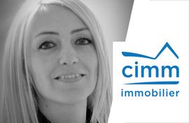 Aurélie Miribel, DG CIMM Immobilier