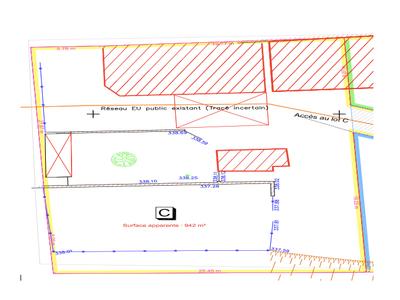 Terrain, 942 m²