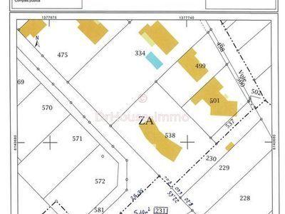 Terrain, 830 m²