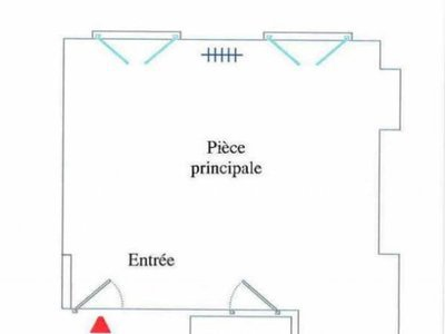 Appartement, 13,67 m²