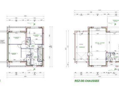 Terrain, 445 m²