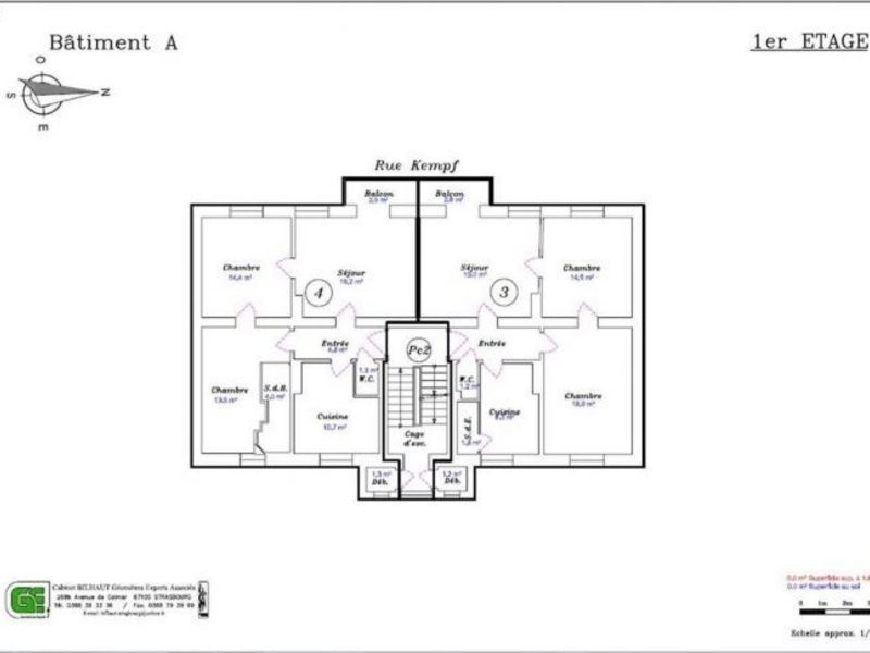 Immeuble, 528 m²