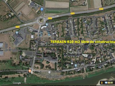 Terrain, 820 m²