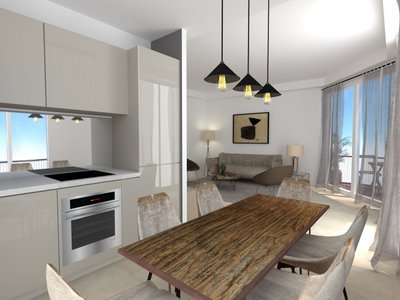 Appartement, 61,6 m²