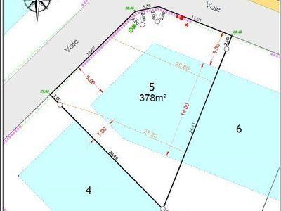 Terrain, 378 m²