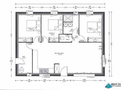 Maison, 82,28 m²