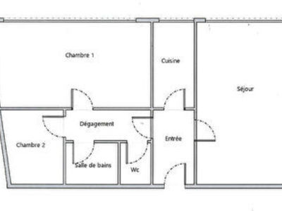 Appartement, 63,67 m²