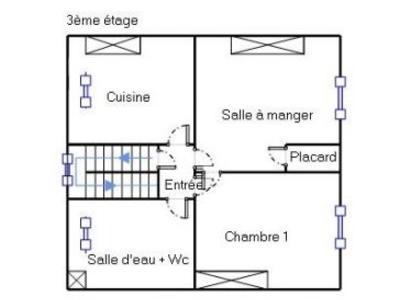 Appartement, 34,15 m²
