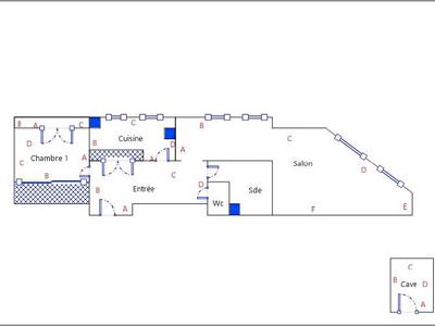 Appartement, 54,18 m²
