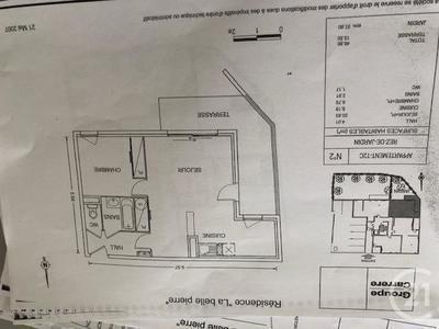 Appartement, 46,9 m²