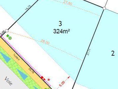 Terrain, 324 m²