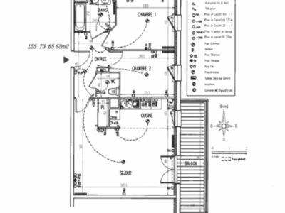 Appartement, 65,62 m²