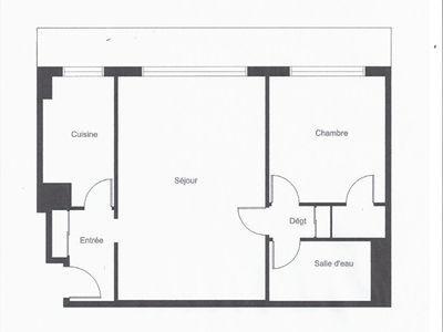 Appartement, 49,52 m²