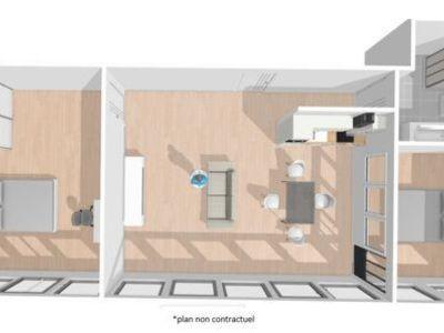 Appartement, 74,23 m²