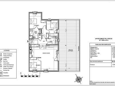 Appartement, 99,78 m²
