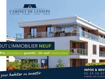 Ventes immobilières rez de jardin à Bayonne (64100) - Superimmo
