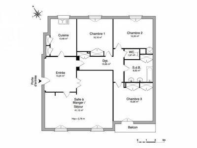Appartement, 141 m²