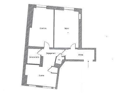 Appartement, 55,67 m²