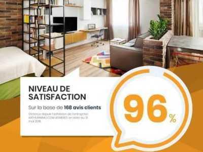 Appartement, 40,4 m²