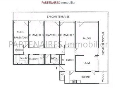 plan appartement type 2 parly 2