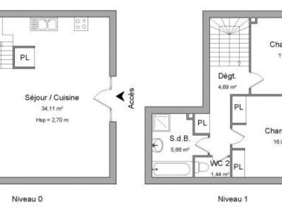 Maison, 79 m²