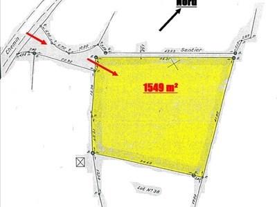 Terrain, 1 549 m²