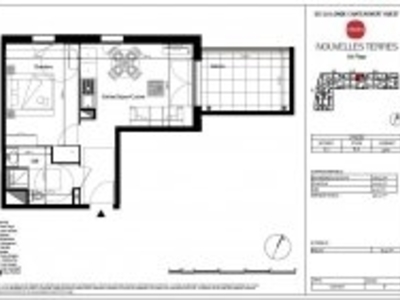 Appartement, 36,11 m²