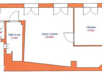 Appartement, 41,03 m²