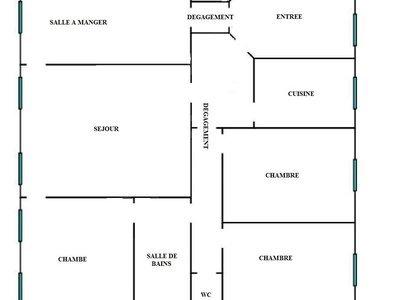 Appartement, 118,19 m²