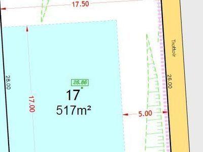 Terrain, 517 m²