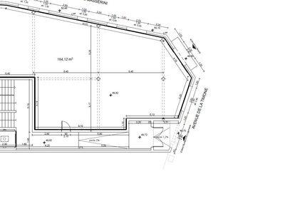 Immeuble, 180 m²