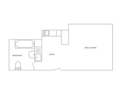 Appartement, 22,85 m²