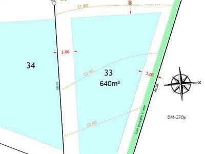 Terrain, 640 m²