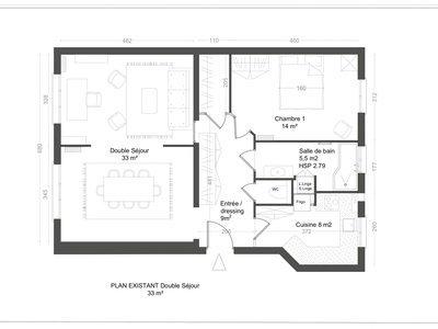 Appartement, 72,74 m²