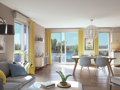 Appartement neuf, 39,34 m²