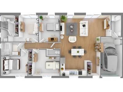 Maison neuve, 113 m²