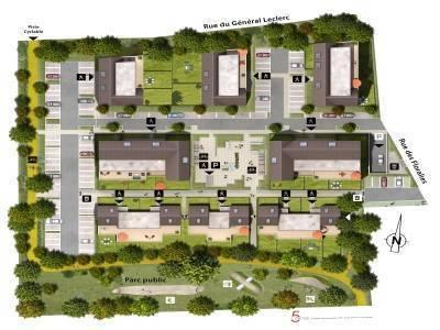 Appartement neuf, 42,45 m²