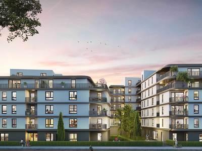 Appartement neuf, 25,44 m²