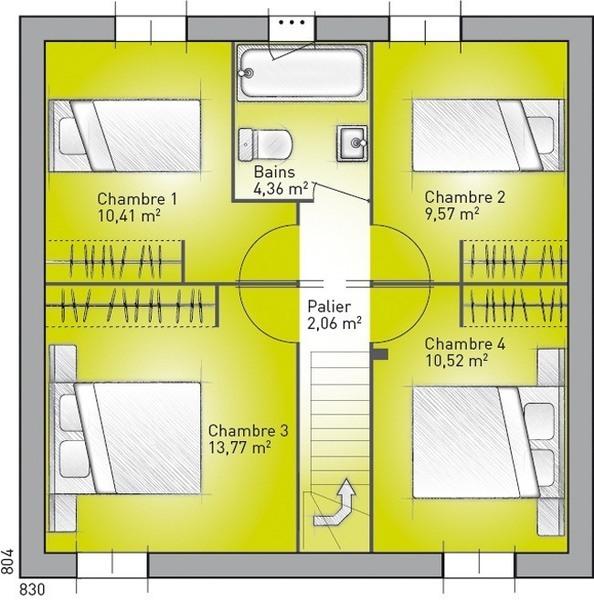 Vente maison 6 pi ces 103 m provins 77160 superimmo for Achat maison neuve provins