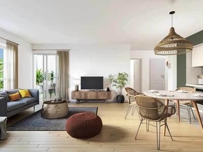 Appartement neuf, 64,5 m²