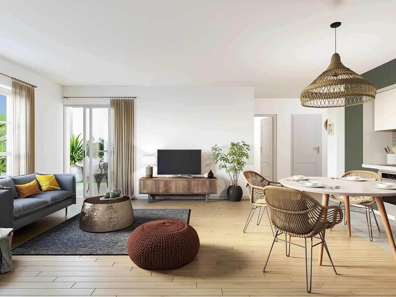 Appartement neuf, 67,68 m²