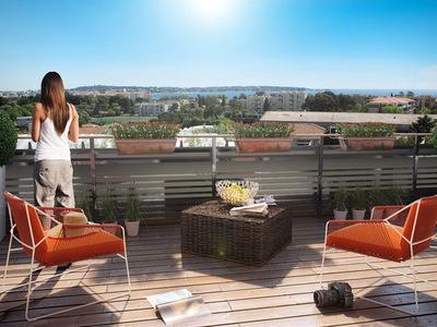Appartement neuf, 42,84 m²