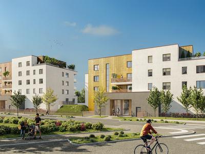 Appartement neuf, 101,1 m²
