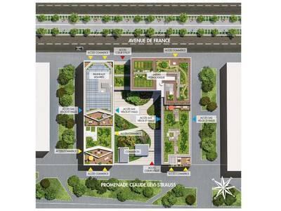 Appartement neuf, 49,61 m²