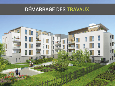 Appartement neuf, 61,53 m²