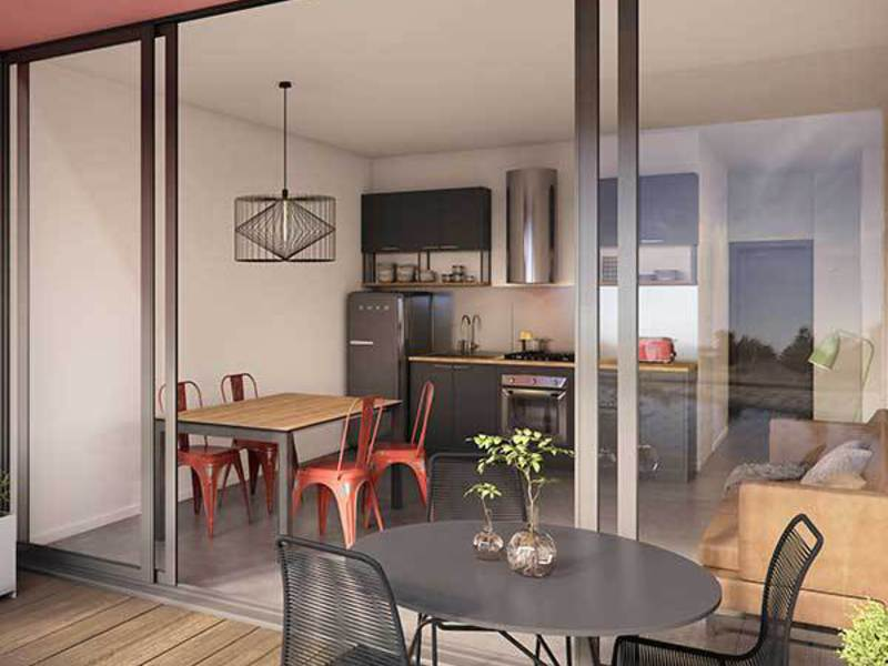 Appartement neuf, 25,5 m²