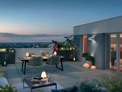 Appartement neuf, 40 m²
