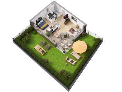 Appartement neuf, 43,69 m²